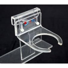 開口式亞克力過濾網袋支架可調節高低