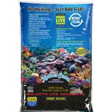 Nature's Ocean Bio-Activ Live Aragonite Reef Sand 活海水經典黑沙4.536KG