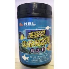 台灣 NBL 熱帶魚高營養沉料 60G (緩沈)