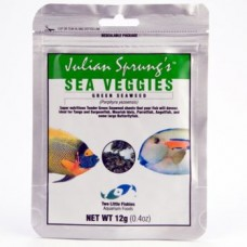 SeaVeggies-Green Seaweed 綠色海藻(適合倒吊,大型神仙,雜食魚類)12g